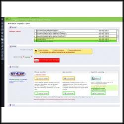 PrestaShop XLSX (MS Excel file) export / import